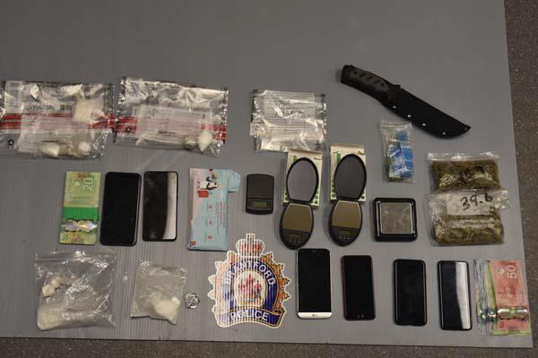 Drugs and Cash Seized from Investigation