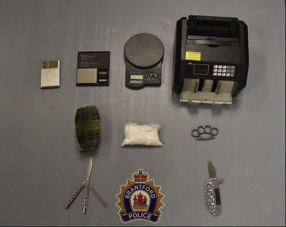 Image of drugs and weapons