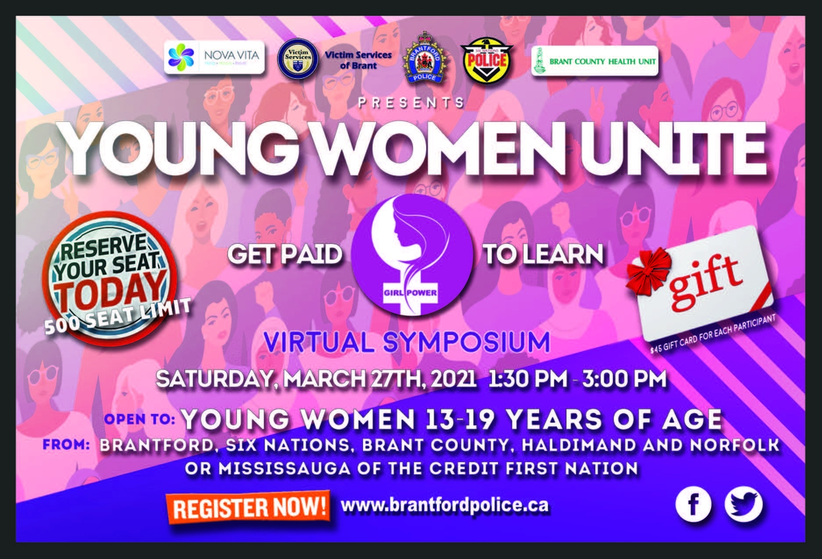 Young Women Unite Poster